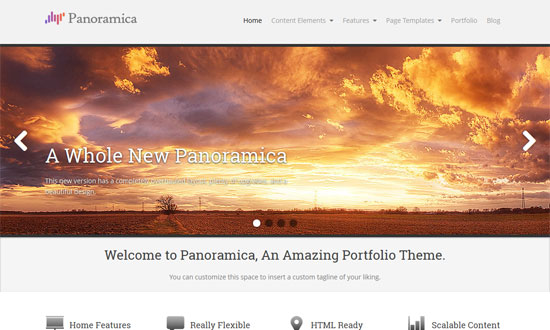 Panoramica WordPress Theme