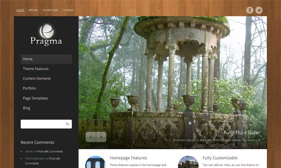 Pragma WordPress Theme
