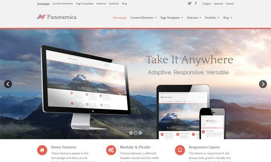 Panoramica Pro WordPress Theme