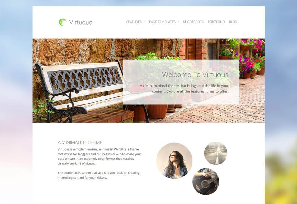Virtuous WordPress Theme