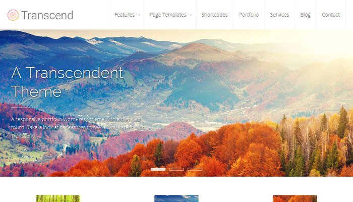 Transcend WordPress Theme